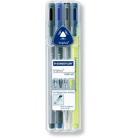 STAEDTLER Schreibset triplus® multi-set, gefüllt, Kst., farblos