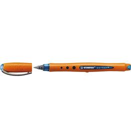 STABILO Tintenkuli worker®, mit Kappe, F, 0,3 mm, Schreibf.: blau