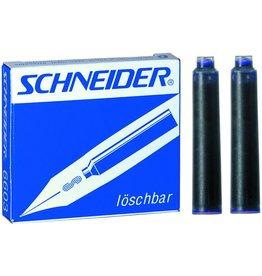 Schneider Tintenpatrone, für: Füllhalter, Standard, Schreibf.: königsblau