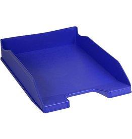 EXACOMPTA Briefkorb COMBO 2, PS, A4+, 255 x 347 x 65 mm, kobaltblau