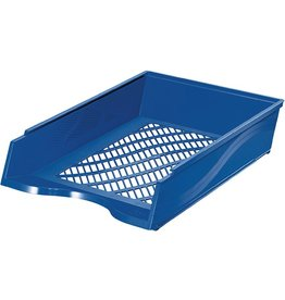 bene Briefkorb, PS, C4, 255 x 370 x 65 mm, blau