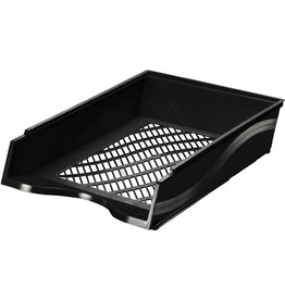 bene Briefkorb, PS, C4, 255 x 370 x 65 mm, schwarz