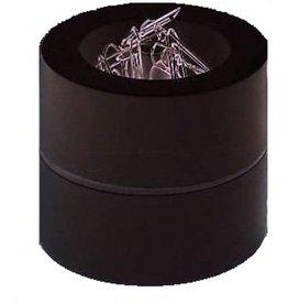 MAUL Klammernspender, Kst., magn., rund, 73x60mm, sw