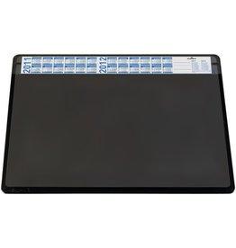 DURABLE Schreibunterlage, m.auswechselb.Vollsichtauflage, 65x52cm, schwarz