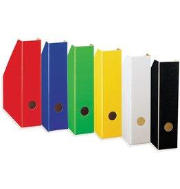 LANDRÉ Stehsammler Color, Hartpappe, A4, 70 x 225 x 300 mm, weiß