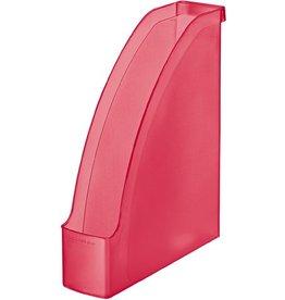LEITZ Stehsammler Plus, PS, A4, Füllbreite: 70mm, rot, gefrostet