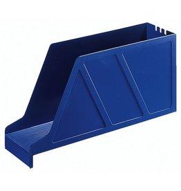LEITZ Stehsammler Standard, Kst., m.Greifaus., A4q, 97x336x156mm, blau