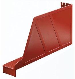 LEITZ Stehsammler Standard, Kst., m.Greifaus., A4q, 97x336x156mm, rot