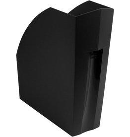 EXACOMPTA Stehsammler THE MAGAZINE, A4+, 110 x 292 x 320 mm, schwarz