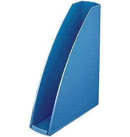 LEITZ Stehsammler WOW, PS, A4, Füllbreite: 60 mm, blau, metallic
