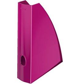 LEITZ Stehsammler WOW, PS, A4, Füllbreite: 60 mm, pink, metallic