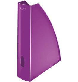 LEITZ Stehsammler WOW, PS, A4, Füllbreite: 60 mm, violett, metallic