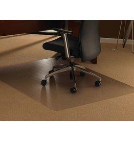 CLEARTEX Bodenschutzmatte ultimat, für Teppichböden, PC, rechteckig, 120x150cm