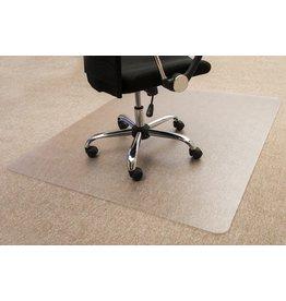 STAPLES Bodenschutzmatte, Teppich, PC, 120 x 150 cm, farblos, transparent