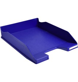 EXACOMPTA Briefkorb COMBO 2, PS, A4+, 255 x 347 x 65 mm, nachtblau