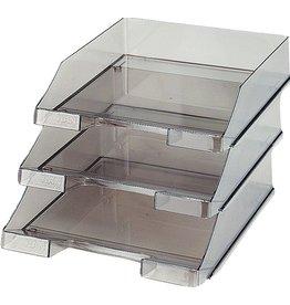 HAN Briefkorb, PS, C4, 255x348x65mm, rauchtopas, transparent