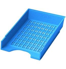 DONAU Briefkorb, PS, C4, 256 x 370 x 70 mm, blau