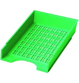 DONAU Briefkorb, PS, C4, 256 x 370 x 70 mm, grün