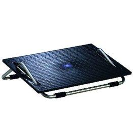 WEDO Fußstütze Ergoswing, Trittfläche: 47,5 x 30 cm, schwarz/chrom