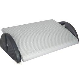 WEDO Fußstütze RELAX-PLUS, Trittfläche: 45x35cm, 3 - 16,5 cm, lichtgrau