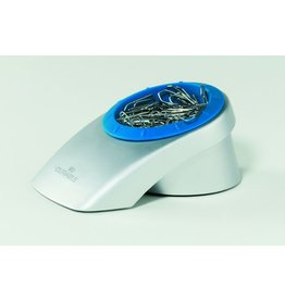 DURABLE Klammernspender Clip Box, gefüllt, Keilform, 63x144x92mm, silb