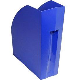EXACOMPTA Stehsammler THE MAGAZINE, A4+, 110 x 292 x 320 mm, kobaltblau