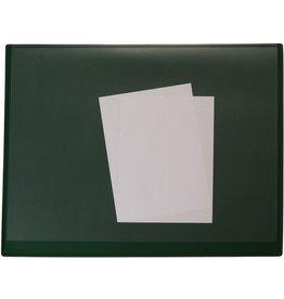 STAPLES Schreibunterlage, Kst.(RC), m.Volls.aufl., 65 x 52 cm, grün