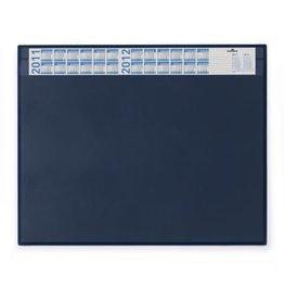 DURABLE Schreibunterlage, m.auswechselb.Vollsichtauflage, 65x52cm, blau