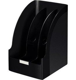 LEITZ Stehsammler Jumbo Plus, A4, Füllbreite: 205mm, 213x250x321mm, schwarz