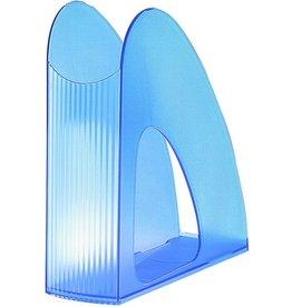HAN Stehsammler TWIN, PS, C4, 76 x 239 x 256 mm, blau, transluzent
