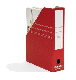 Pressel Stehsammler, Wellpappe, A4, 75 x 260 x 325 mm, rot
