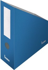bene Stehsammler, Wellpappe, mit Griffloch, A4+, 100x260x320mm, blau