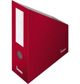 bene Stehsammler, Wellpappe, mit Griffloch, A4+, 100x260x320mm, rot