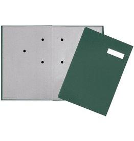 PAGNA Unterschriftsmappe, ECO, A4, 24x35cm, 20 Fächer, grün