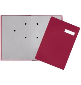 PAGNA Unterschriftsmappe, ECO, A4, 24x35cm, 20 Fächer, rot