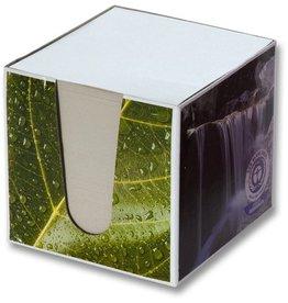 folia Zettelbox, 95 x 95 x 90 mm, 4farbig sortiert