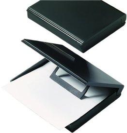 helit Zettelbox, leer, Kst., für: A7, 113x103x30mm, sw