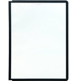 DURABLE Sichttafel SHERPA®, PP, A4, farblos/schwarzer Rahmen