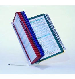 DURABLE Sichttafelständer VARIO® TABLE 20, für: 20 Sichtt., A4, gefüllt