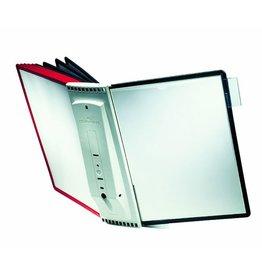 DURABLE Sichttafelwandhalter SHERPA®, für: 10 Sichtt., A4, gefüllt