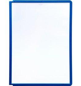 DURABLE Sichttafel SHERPA®, PP, A4, farblos/dunkelblauer Rahmen