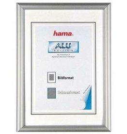 hama Bilderrahmen Chicago, Normalglas, 30x40cm, Alurahmen, silb, B: 11mm