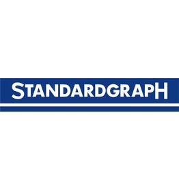 Standardgraph Lineal, Holz, L: 30 cm, mm-Teilung, natur