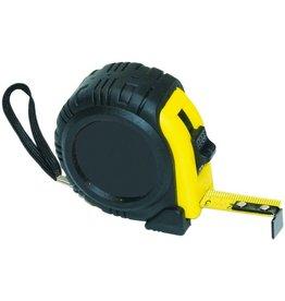 Pressel Rollbandmaß, B: 25 mm, L: 500 cm, mm-Teilung, schwarz/gelb