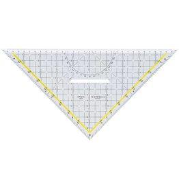 ARISTO TZ-Dreieck, mit festem Griff, Hypotenuse: 32,5cm, glaskl