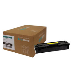 Ecotone HP 203A (CF542A) toner yellow 1300 pages (Ecotone)