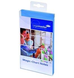 Legamaster Haftnotiz Magic-Chart Notes, rechteckig, 10 x 20 cm, blau