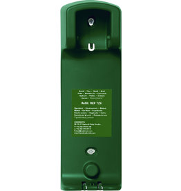 CEDERROTH Wandhalter, für Augendusche, grün