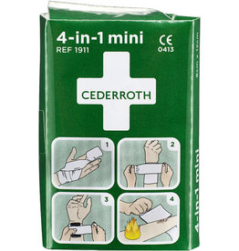 CEDERROTH Verbandpäckchen Blutstiller mini 4-in-1