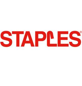 STAPLES Haftnotiz Z-Notes, 76 x 127 mm, gelb, 100 Blatt